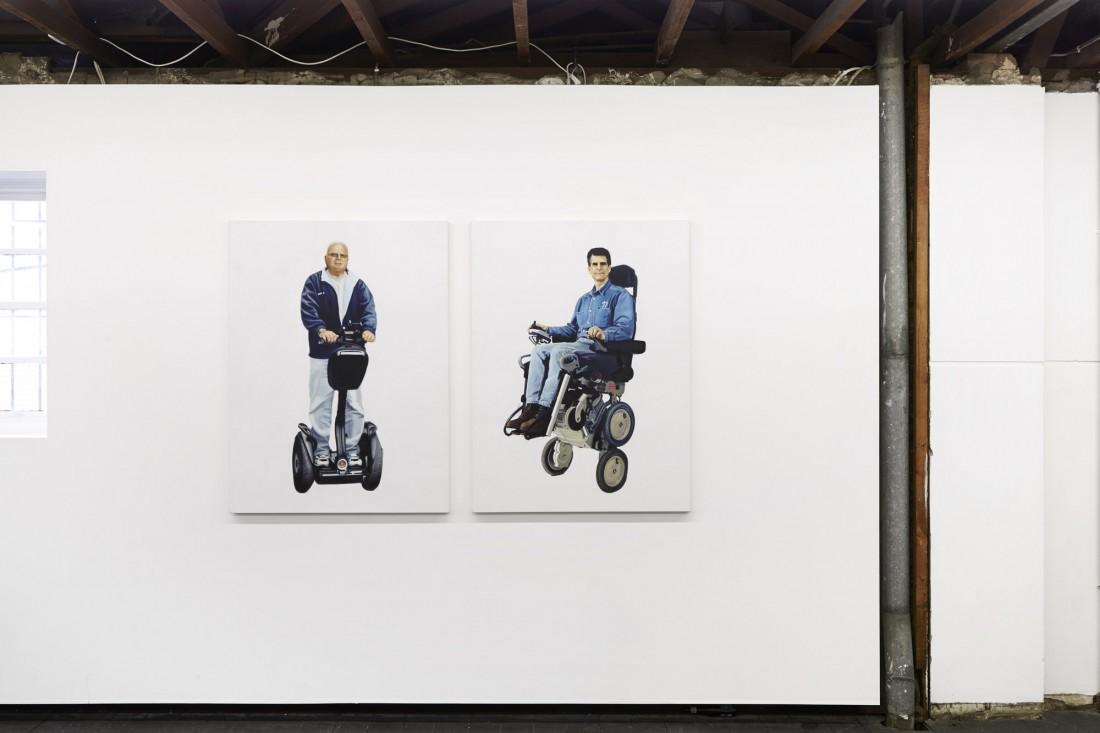 Untitled (Jimi Heselden, 1948 - 2010) 2015 & Untitled (Dean Kamer, 1951 - ) 2015